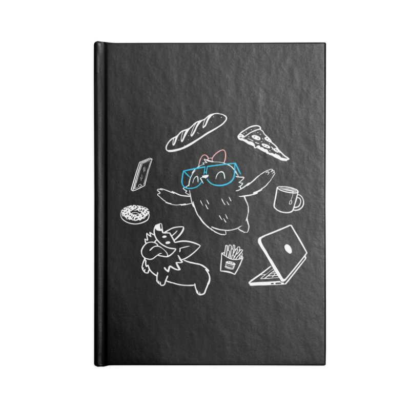 Favorite Things Accessories Lined Journal Notebook by SLOTHILDA