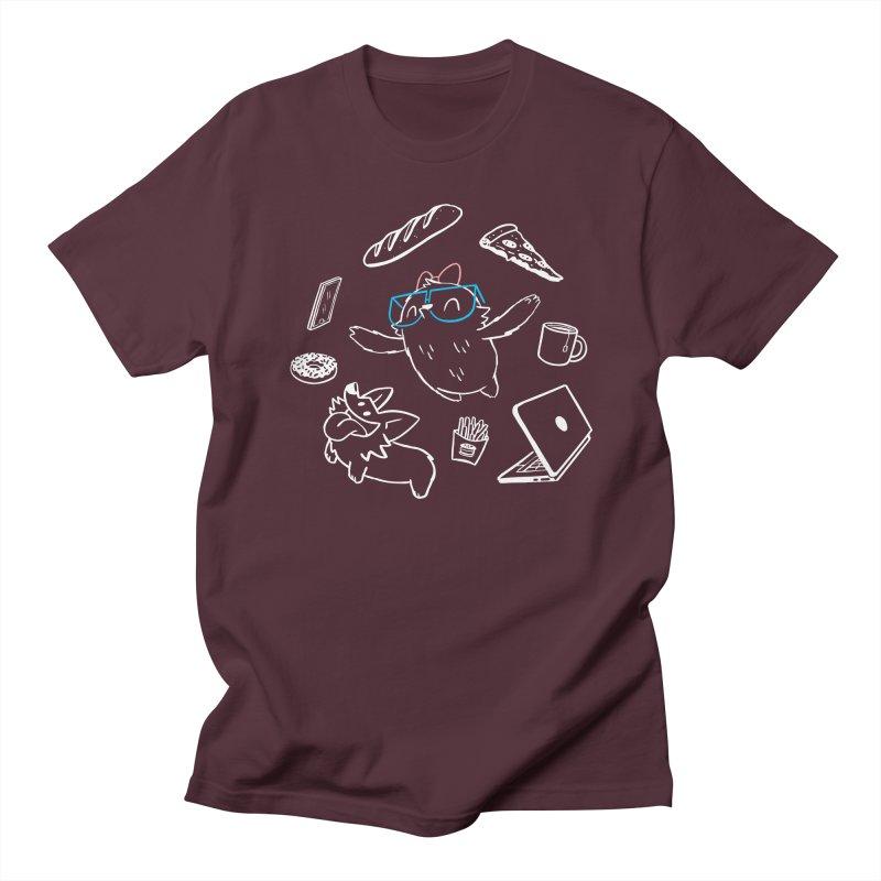 Favorite Things Men's Regular T-Shirt by SLOTHILDA