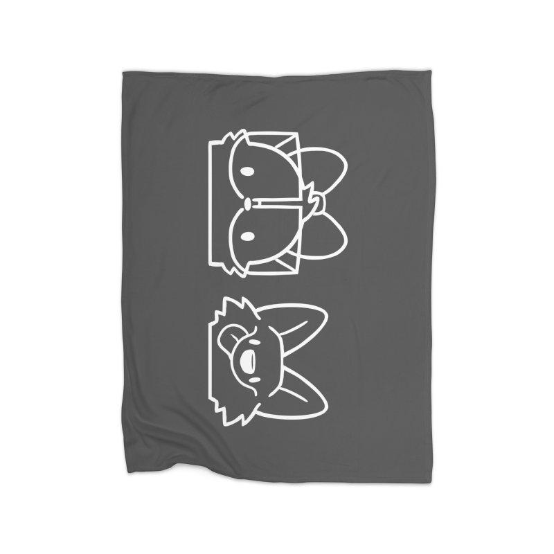 Best Friends Home Fleece Blanket Blanket by SLOTHILDA