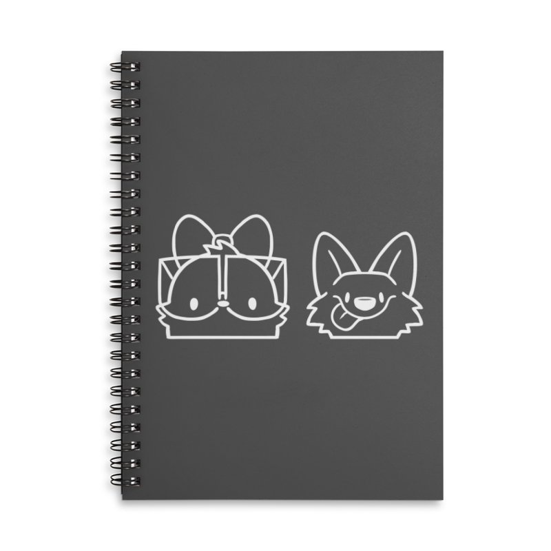 Best Friends Accessories Lined Spiral Notebook by SLOTHILDA
