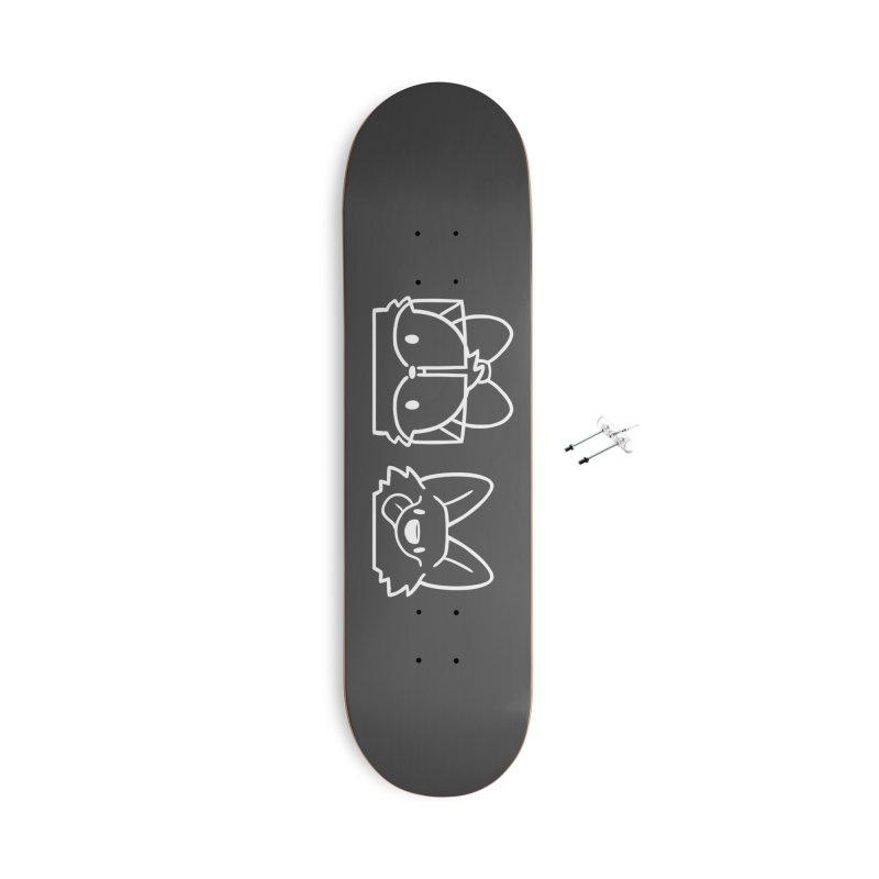 Best Friends Accessories Skateboard by SLOTHILDA