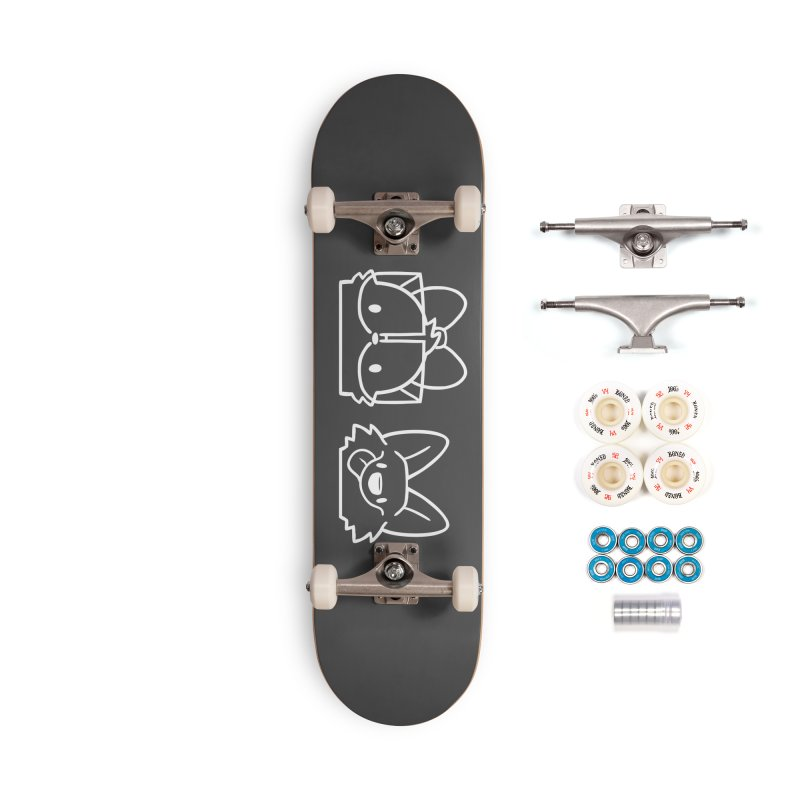 Best Friends Accessories Complete - Premium Skateboard by SLOTHILDA