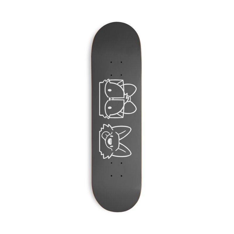 Best Friends Accessories Deck Only Skateboard by SLOTHILDA
