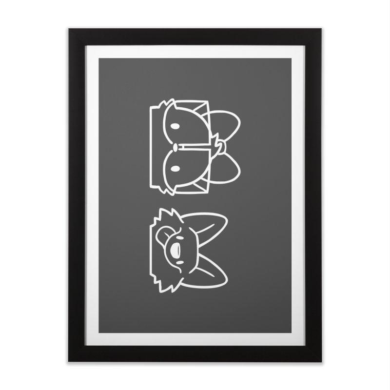 Best Friends Home Framed Fine Art Print by SLOTHILDA