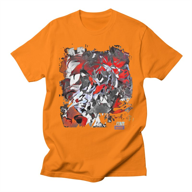 There are still mysteries in Men's Regular T-Shirt Orange by There Are Still Mysteries