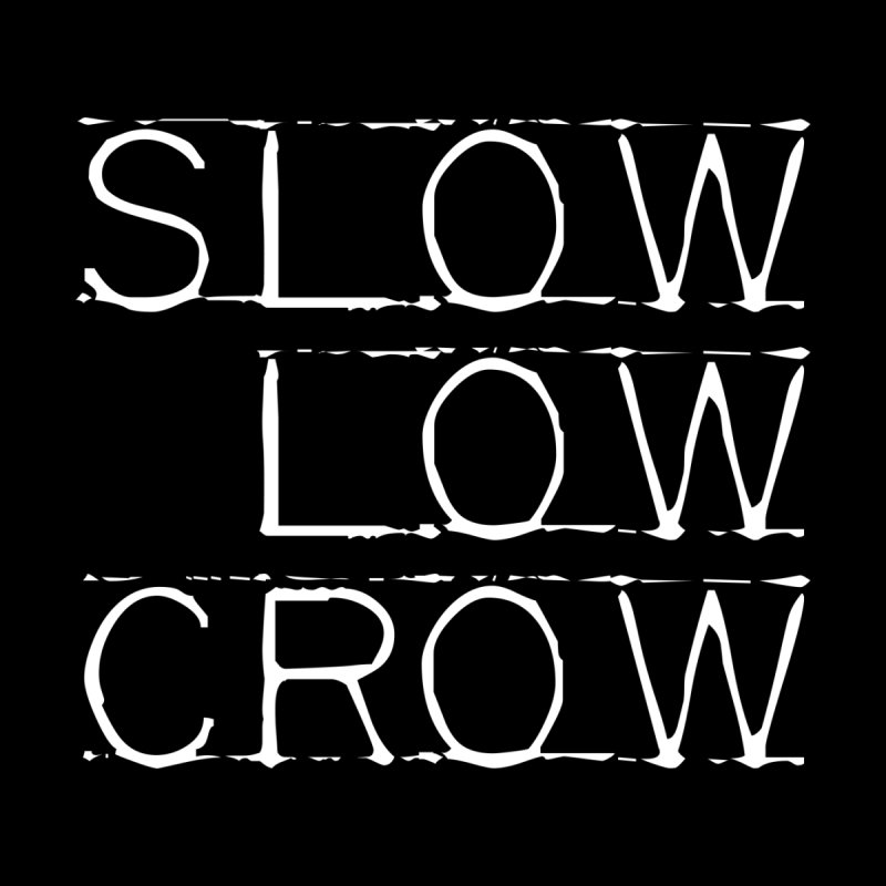 SLC Font Logo Men's Sweatshirt by Slow Low Crow Merch Shop
