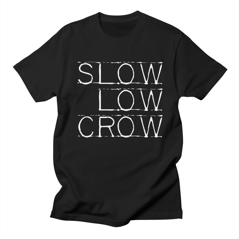 SLC Font Logo Men's T-Shirt by Slow Low Crow Merch Shop