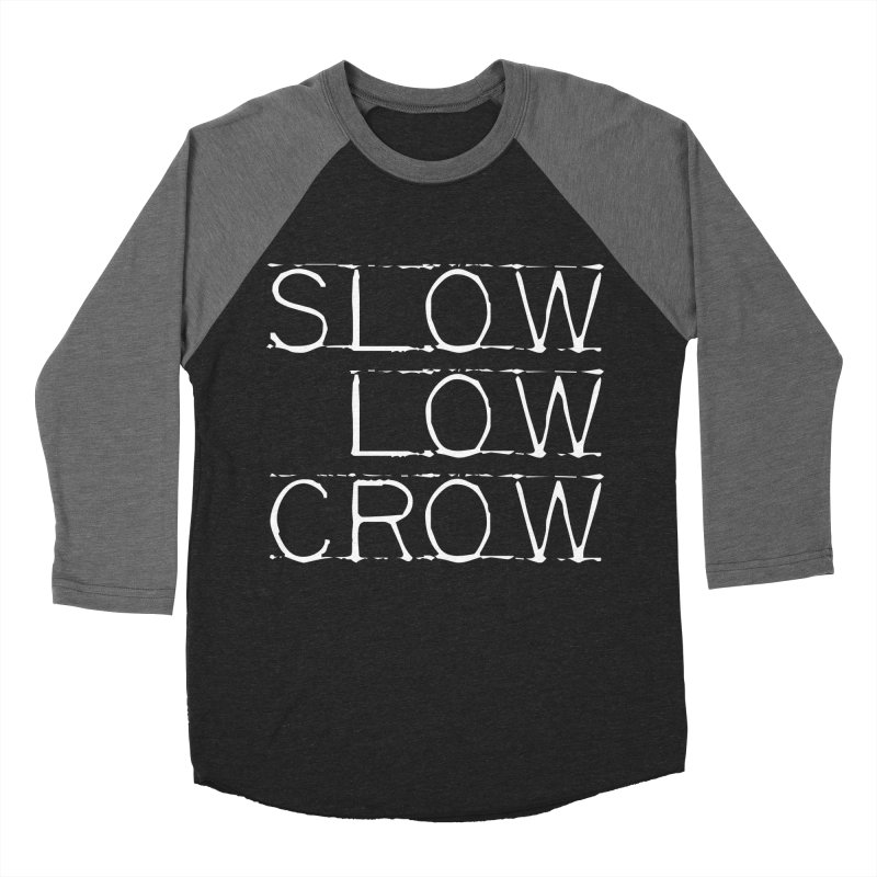 SLC Font Logo Women's Longsleeve T-Shirt by Slow Low Crow Merch Shop