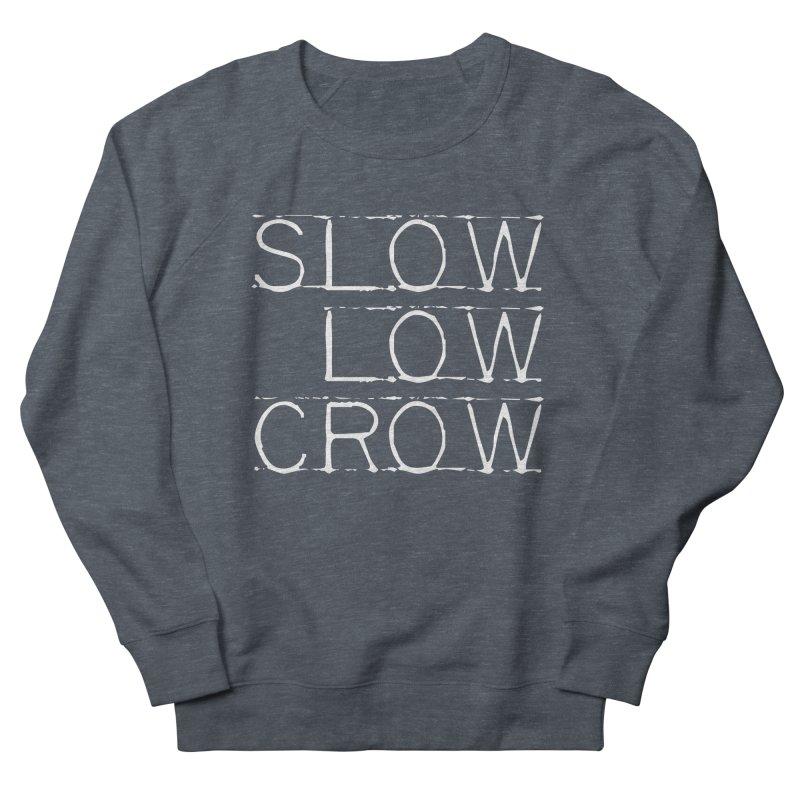 SLC Font Logo Women's French Terry Sweatshirt by Slow Low Crow Merch Shop