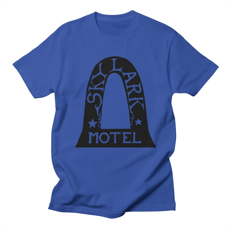 Skylark Motel - Black Version Men's T-Shirt by Slow Low Crow Merch Shop