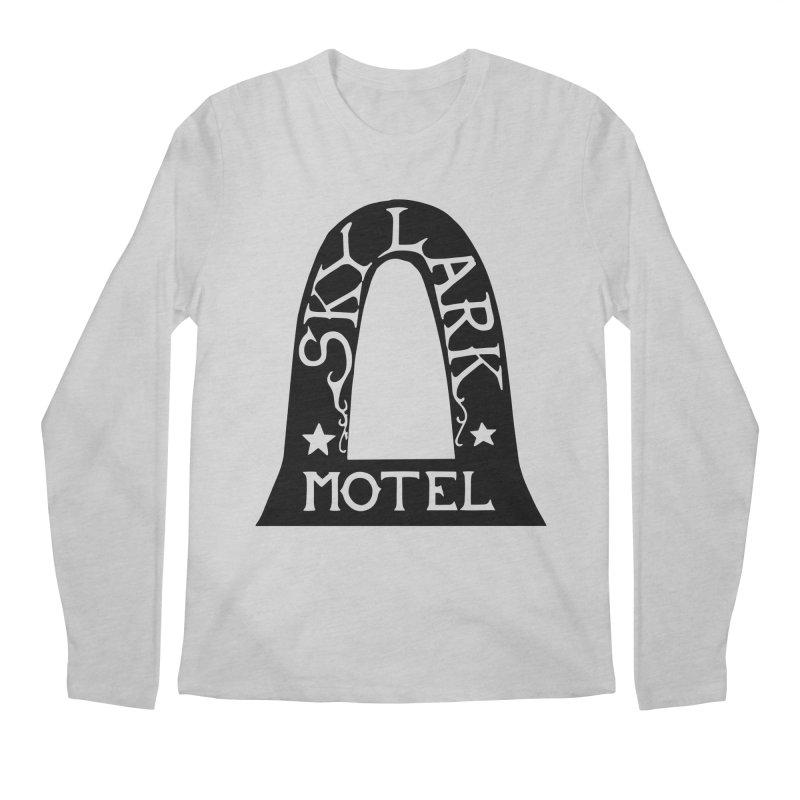 Skylark Motel - Black Version Men's Regular Longsleeve T-Shirt by Slow Low Crow Merch Shop