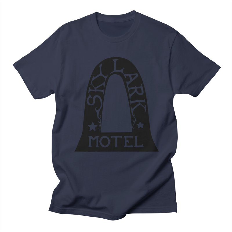 Skylark Motel - Black Version Men's Regular T-Shirt by Slow Low Crow Merch Shop