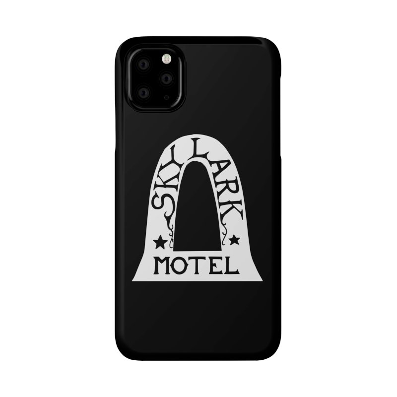 Skylark Motel - White Logo Version Accessories Phone Case by Slow Low Crow Merch Shop