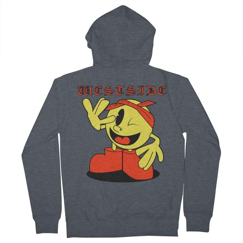Westside Men's Zip-Up Hoody by Slugamo's Threads