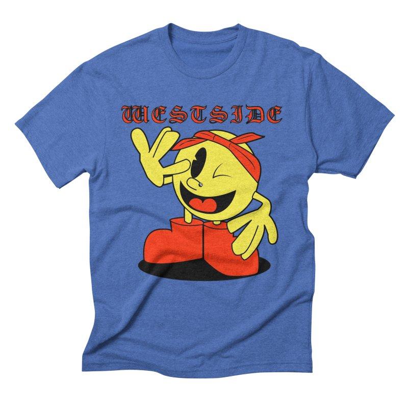 Westside Men's Triblend T-shirt by Slugamo's Threads