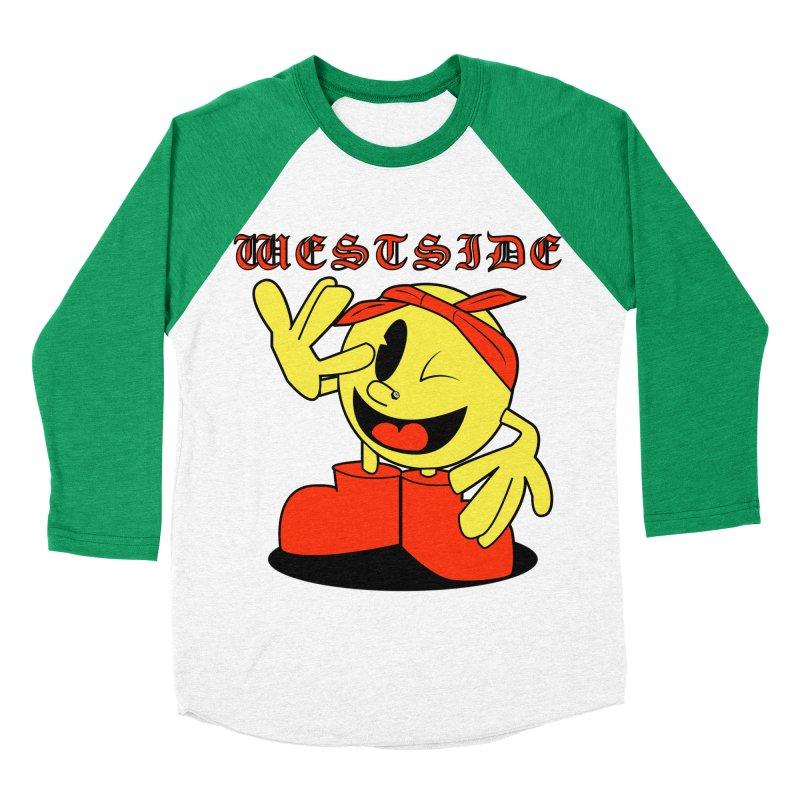 Westside Women's Baseball Triblend T-Shirt by Slugamo's Threads