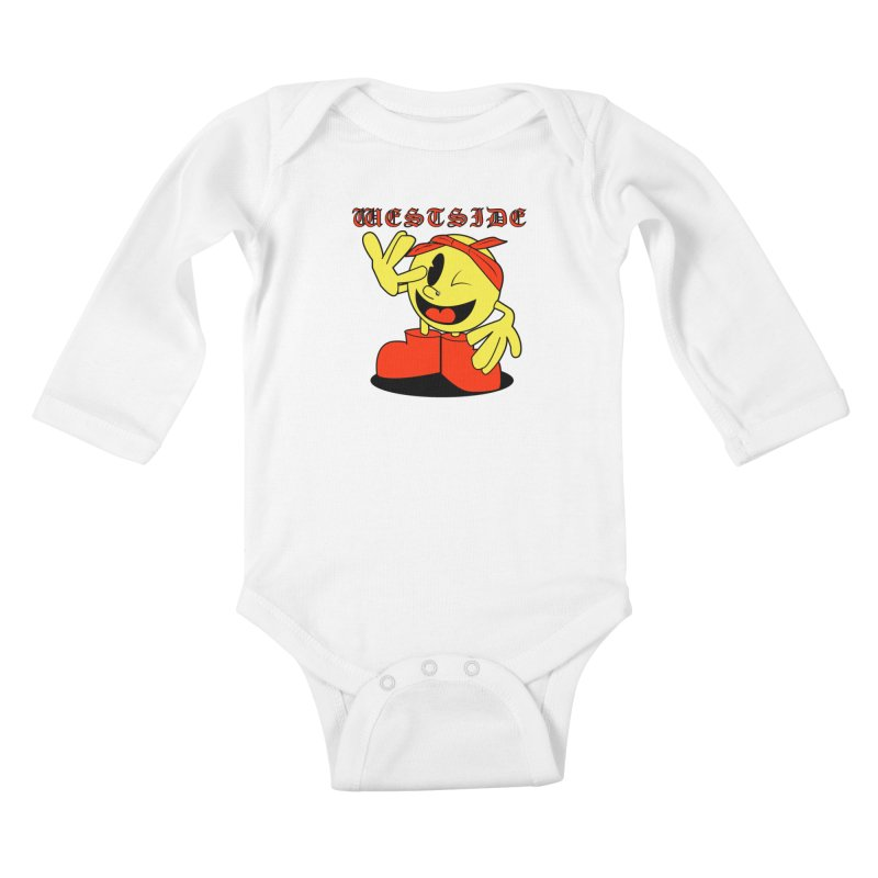 Westside Kids Baby Longsleeve Bodysuit by Slugamo's Threads