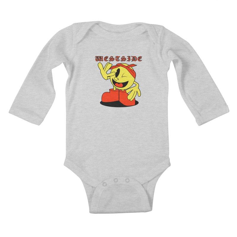 Westside Kids Baby Longsleeve Bodysuit by Slugamo's Threads