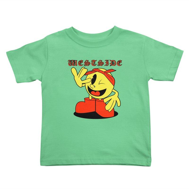 Westside Kids Toddler T-Shirt by Slugamo's Threads