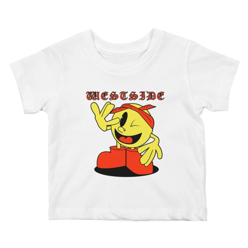 Westside Kids Baby T-Shirt by Slugamo's Threads