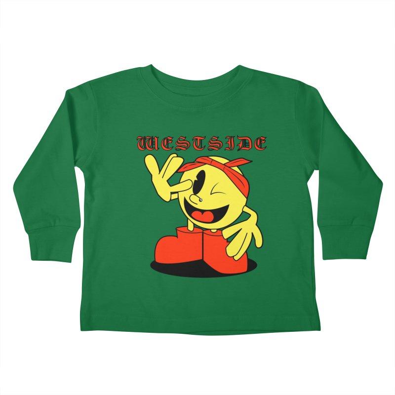 Westside Kids Toddler Longsleeve T-Shirt by Slugamo's Threads