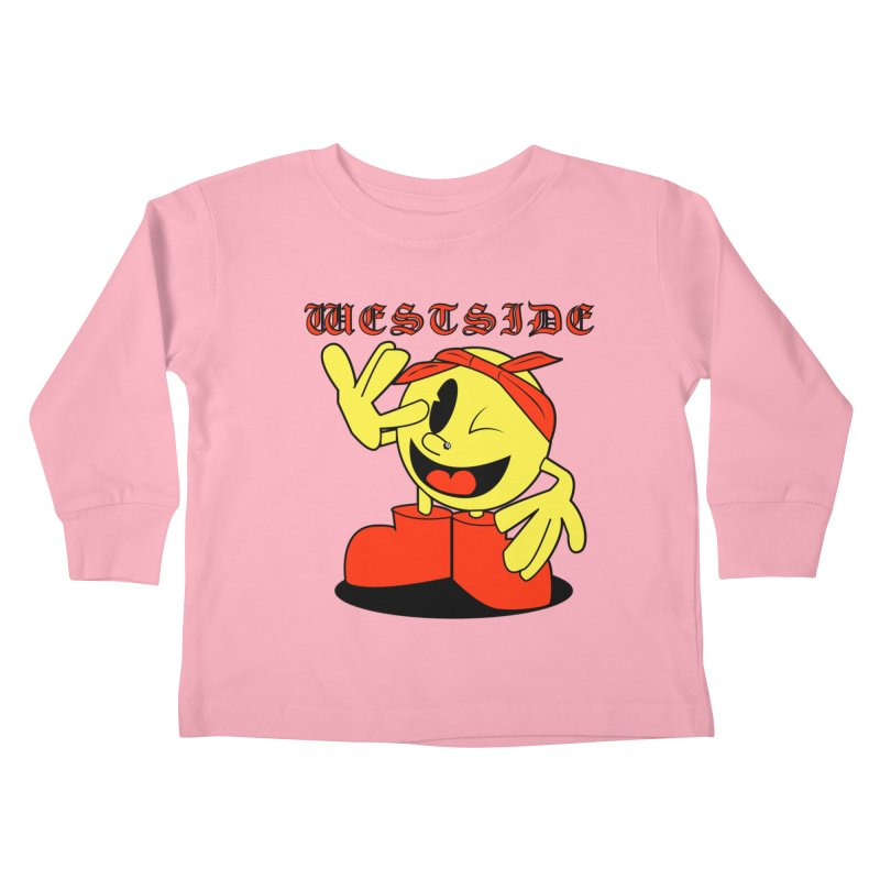 Westside Kids Toddler Longsleeve T-Shirt by Slugamo's Threads