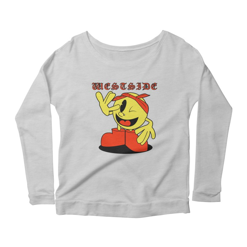Westside Women's Longsleeve Scoopneck  by Slugamo's Threads