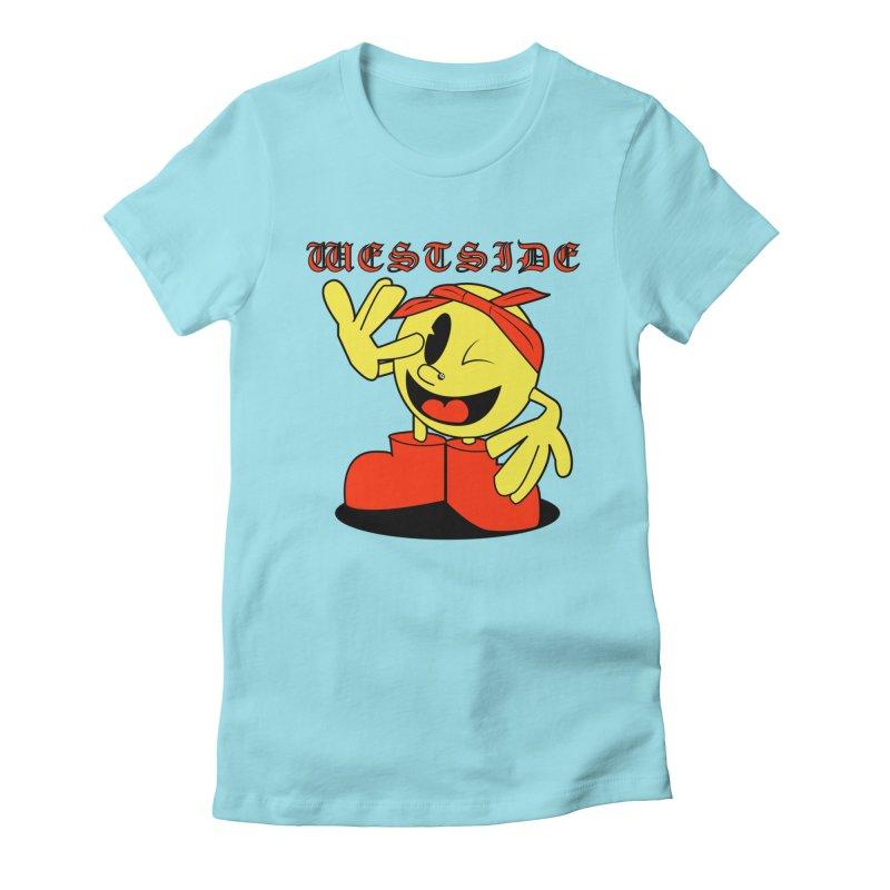 Westside Women's Fitted T-Shirt by Slugamo's Threads