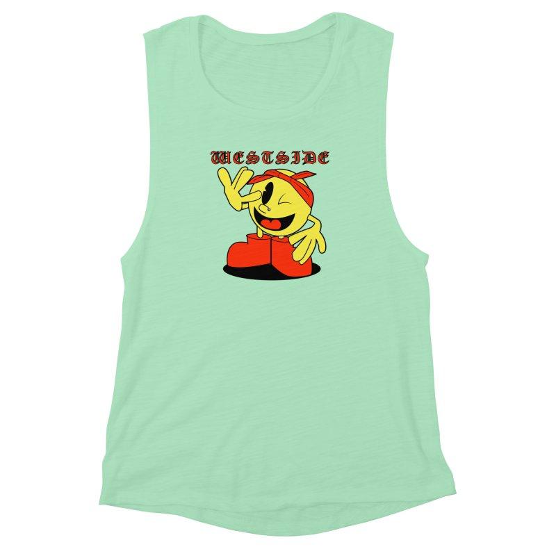 Westside Women's Muscle Tank by Slugamo's Threads