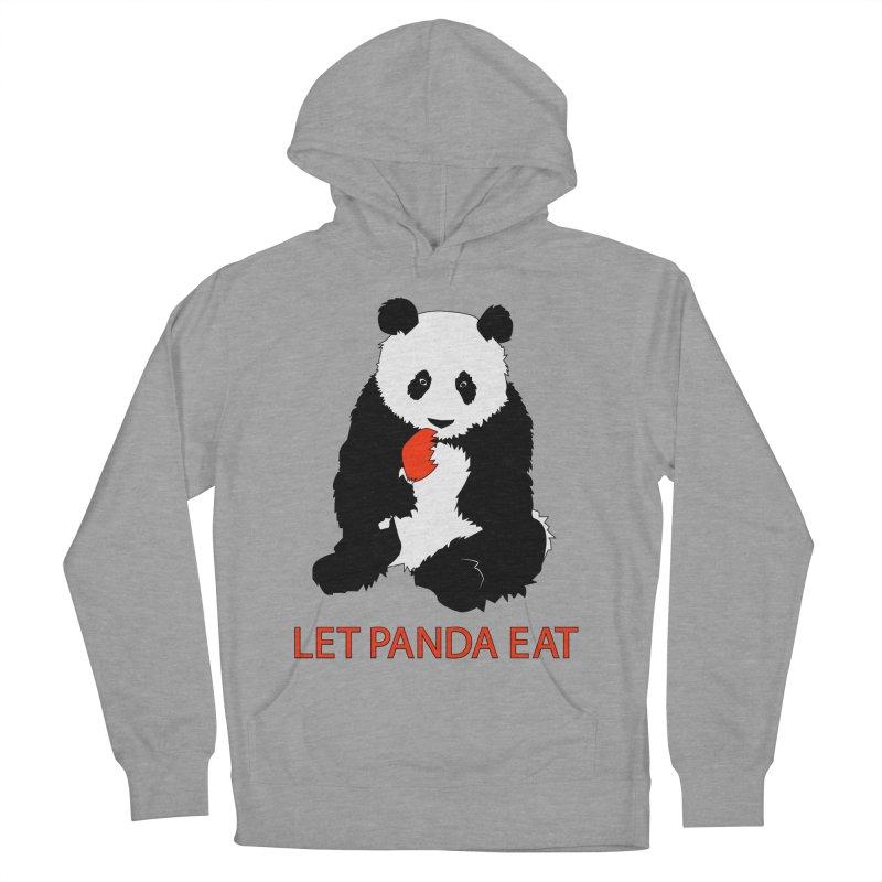 Let Panda Eat Women's Pullover Hoody by Slugamo's Threads