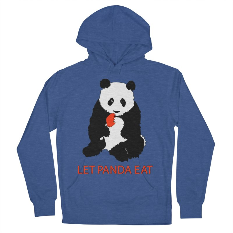 Let Panda Eat Men's Pullover Hoody by Slugamo's Threads