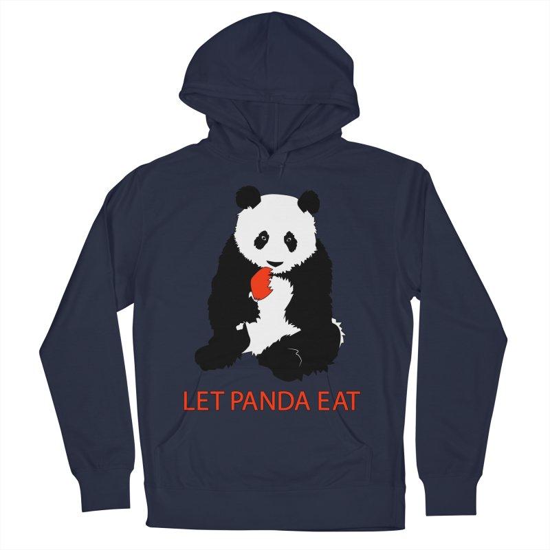 Let Panda Eat Men's Pullover Hoody by Slugamo's Threads