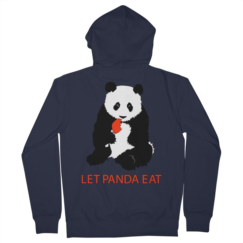 Let Panda Eat Women's Zip-Up Hoody by Slugamo's Threads