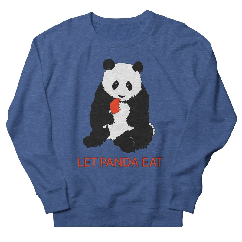 Let Panda Eat Women's Sweatshirt by Slugamo's Threads