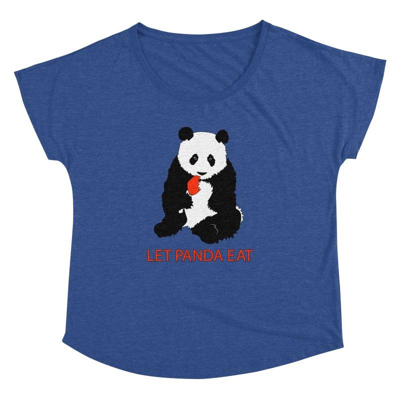 Let Panda Eat Women's Dolman by Slugamo's Threads