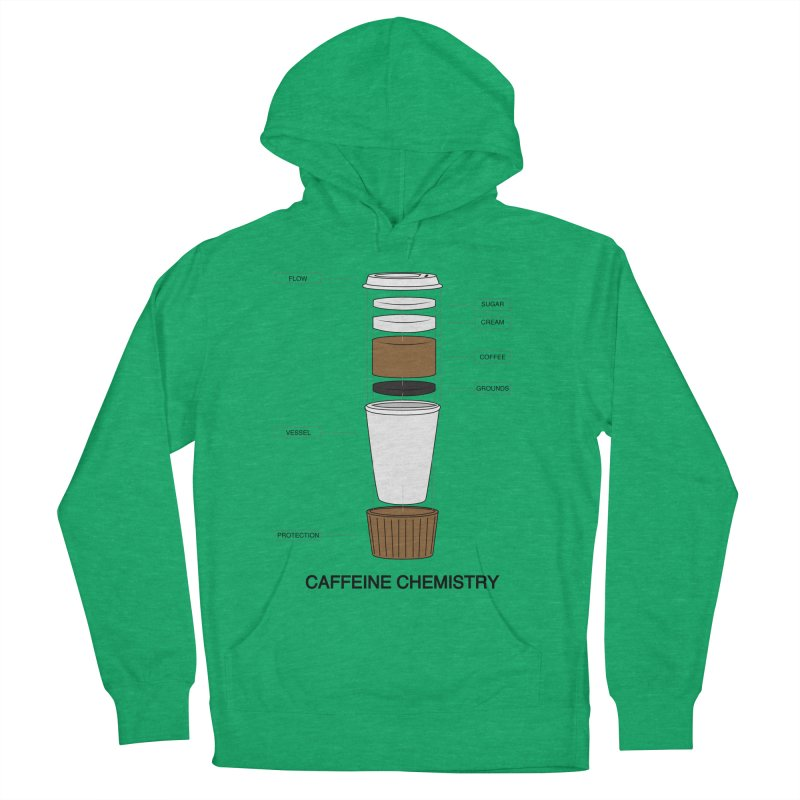 Caffeine Chemistry Men's Pullover Hoody by Slugamo's Threads
