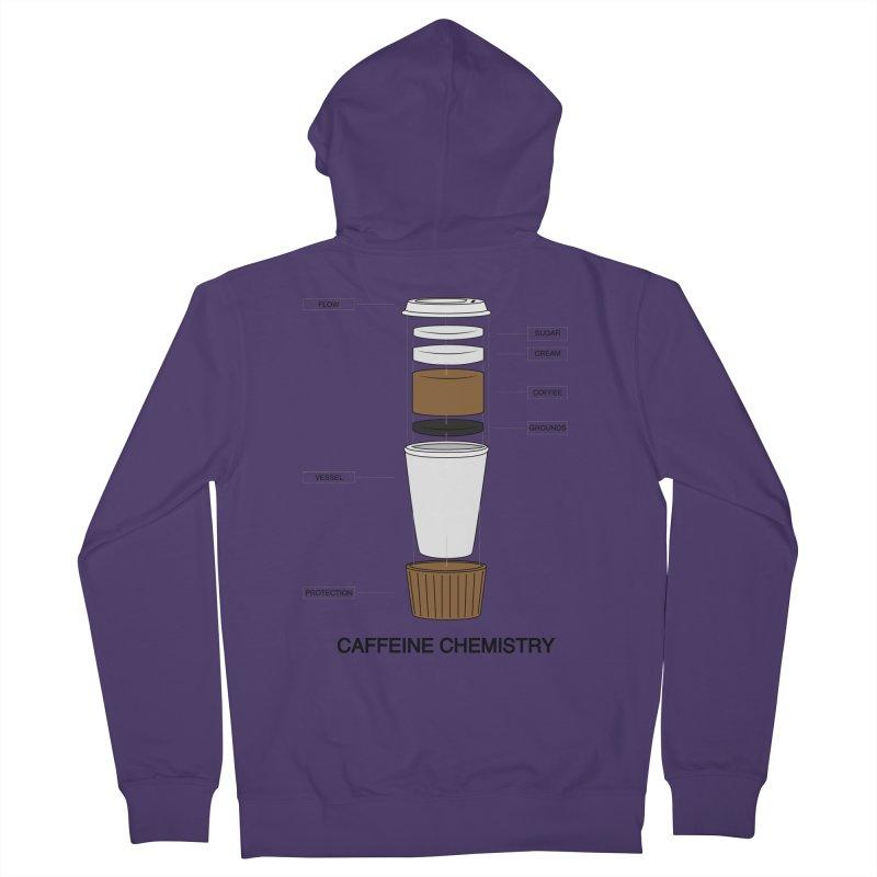 Caffeine Chemistry Women's Zip-Up Hoody by Slugamo's Threads
