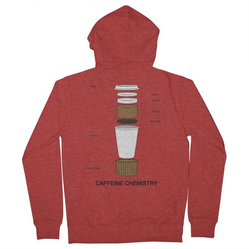 Caffeine Chemistry Men's Zip-Up Hoody by Slugamo's Threads