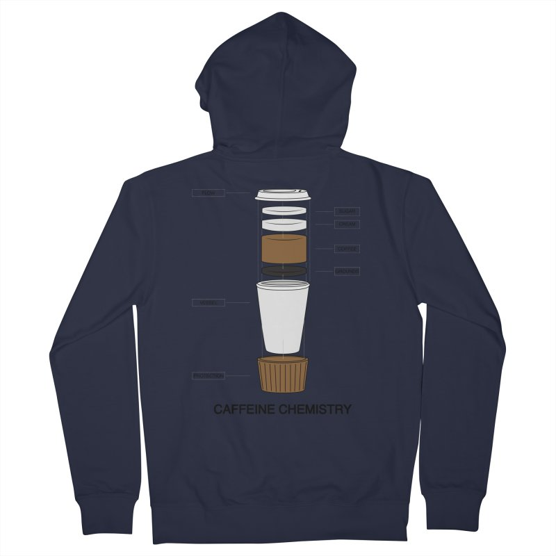 Caffeine Chemistry Men's Zip-Up Hoody by Slugamo's Threads