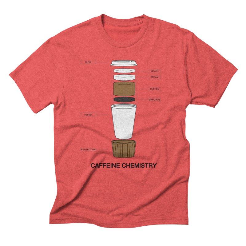 Caffeine Chemistry Men's Triblend T-shirt by Slugamo's Threads
