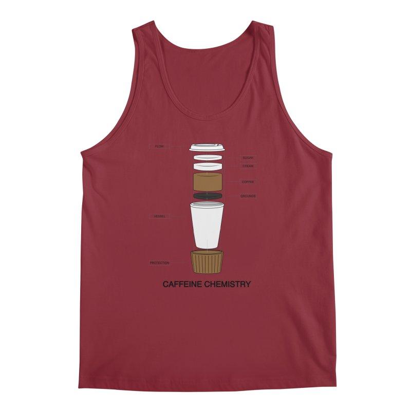 Caffeine Chemistry Men's Tank by Slugamo's Threads
