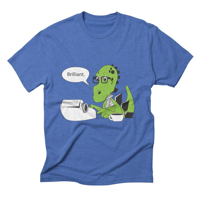 FIRST! Men's Triblend T-Shirt by Slugamo's Threads