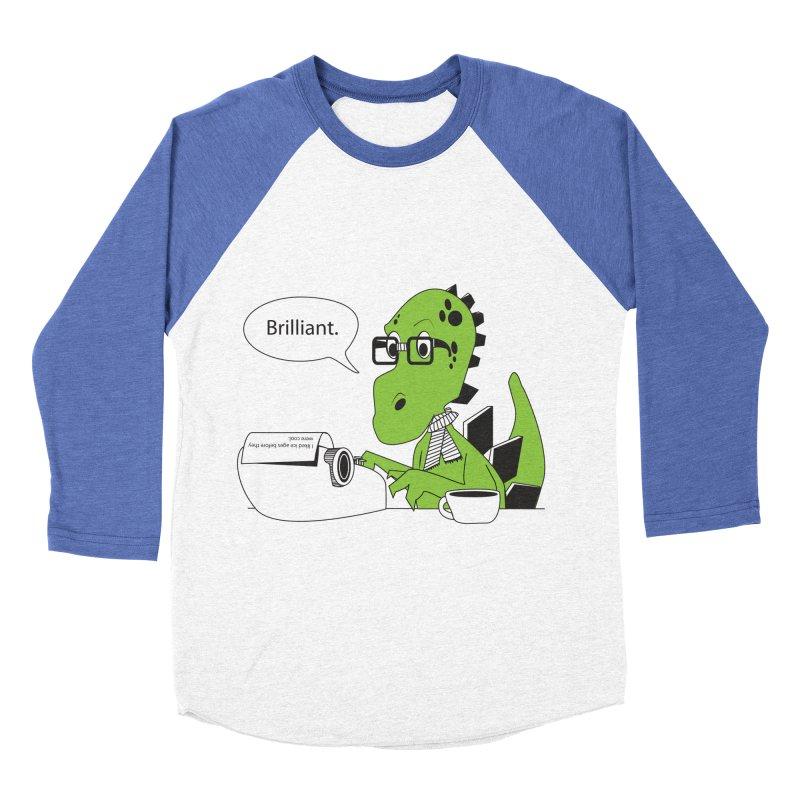 FIRST! Women's Baseball Triblend T-Shirt by Slugamo's Threads