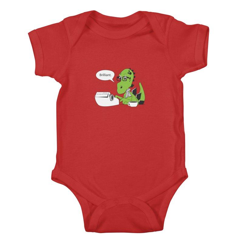FIRST! Kids Baby Bodysuit by Slugamo's Threads