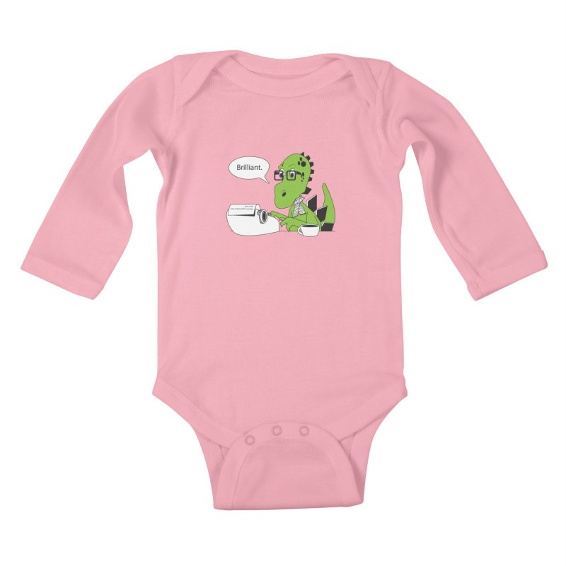 FIRST! Kids Baby Longsleeve Bodysuit by Slugamo's Threads