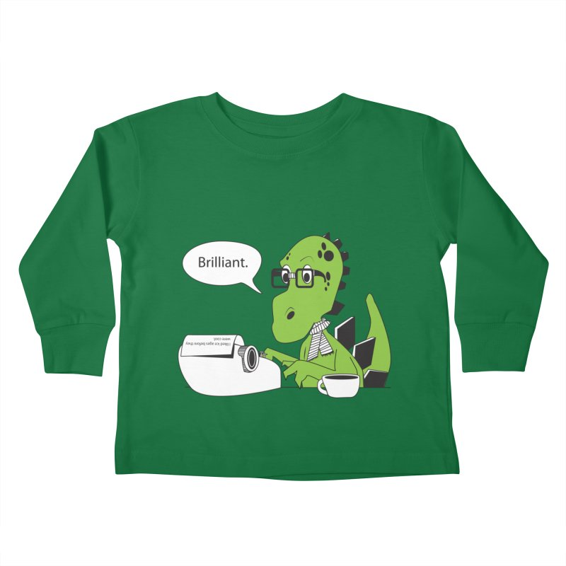 FIRST! Kids Toddler Longsleeve T-Shirt by Slugamo's Threads