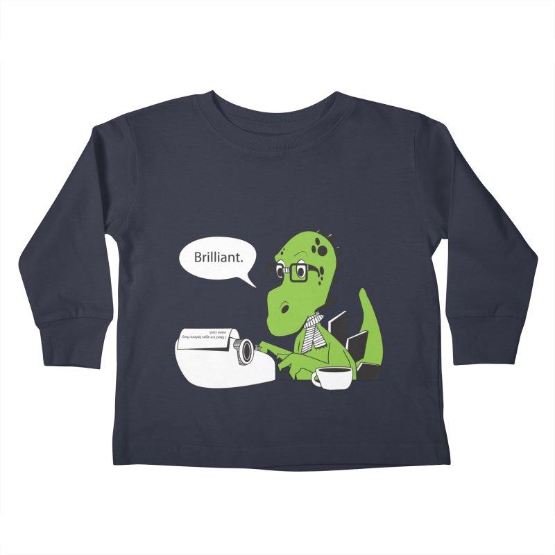 FIRST! Kids Toddler Longsleeve T-Shirt by Slugamo's Threads