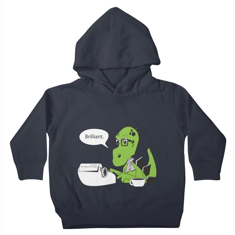 FIRST! Kids Toddler Pullover Hoody by Slugamo's Threads
