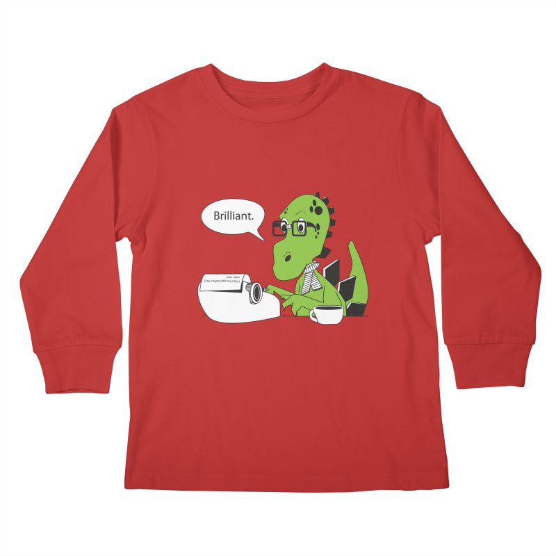 FIRST! Kids Longsleeve T-Shirt by Slugamo's Threads