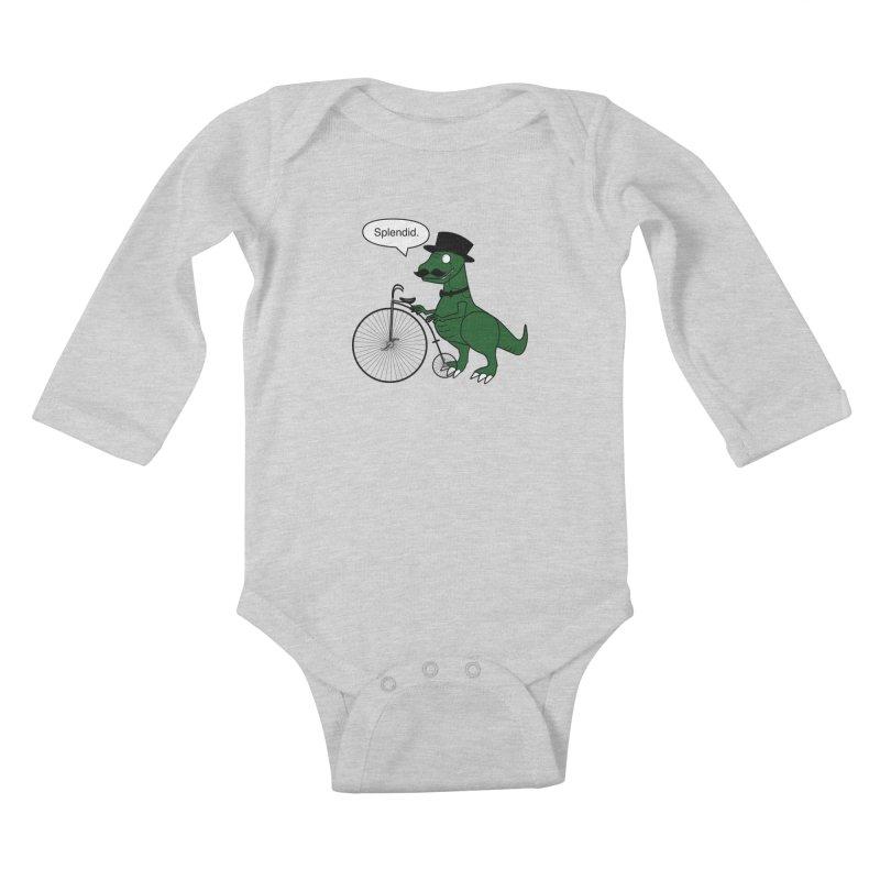 Splendid Find Kids Baby Longsleeve Bodysuit by Slugamo's Threads